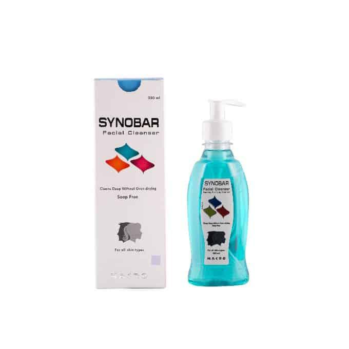 غسول سينوبار ، synobar facial wash