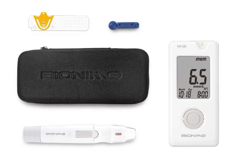 جهاز قياس السكر بيونيم Bionime