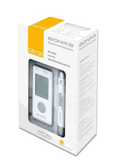 جهاز بيونيم الأصفر Bionime GM100