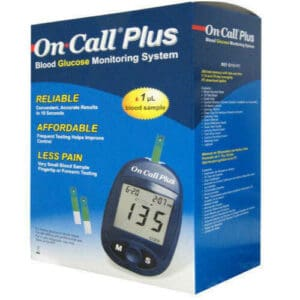 جهاز قياس السكر On Call Plus