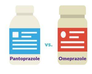 pantoprazole vs omeprazole