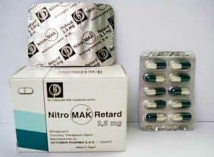 NitroMak Retard 2.5 mg