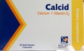 دواء كالسيد calcid