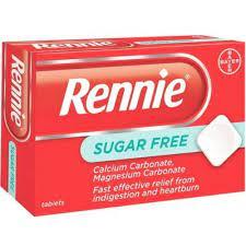 ريني Rennie أقراص لعلاج الحموضة والانتفاخ